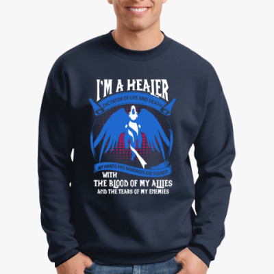 Свитшот Warcraft - I'm A Healer
