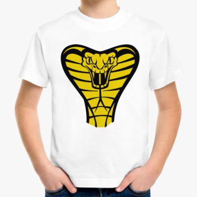 Детская футболка Кобра