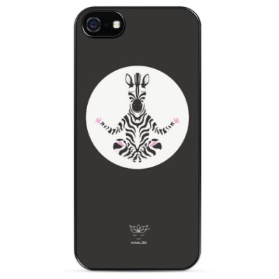 Чехол для iPhone Animal Zen: Z is for Zebra