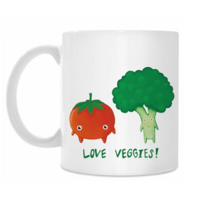 Кружка LOVE VEGGIES!