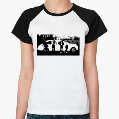 Женская футболка реглан  The Beatles