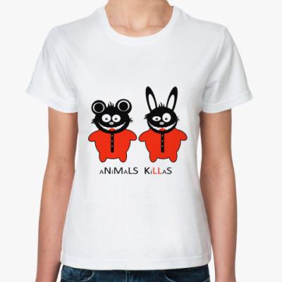 Классическая футболка Animals Killas