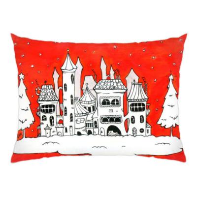 Подушка Рождественское настроение