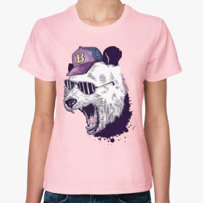 Женская футболка Клубный Зверь