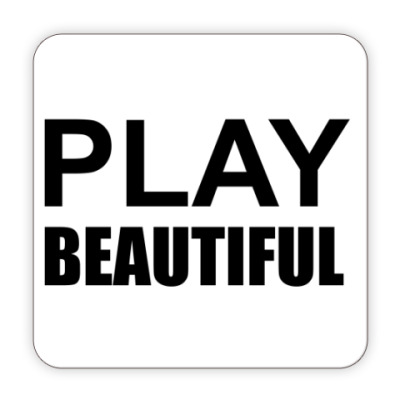 Костер (подставка под кружку) Play Beautiful