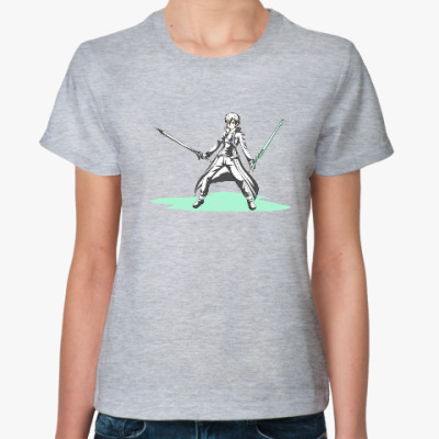 Женская футболка мечник Кирито