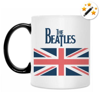 Кружка-хамелеон The Beatles