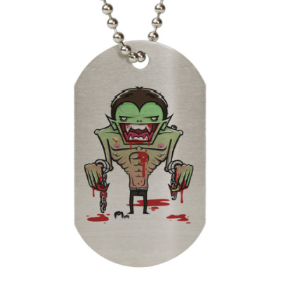 Жетон dog-tag Freaky Vampire