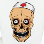 Веселый череп медика
