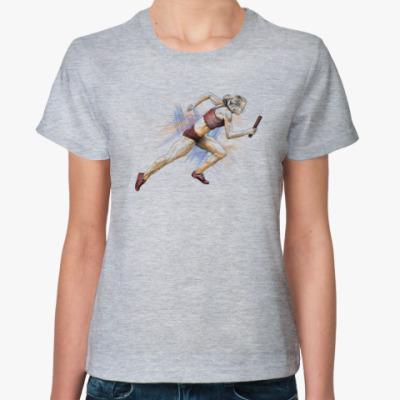 Женская футболка Эстафета