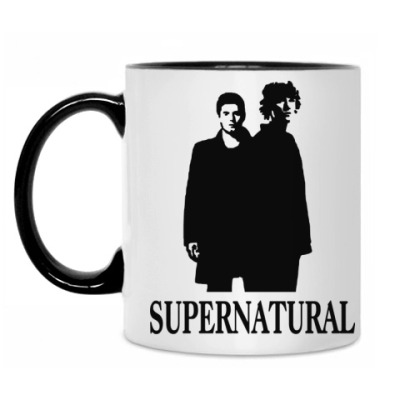 Кружка Supernatural Sam&Dean