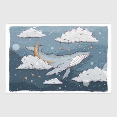 Постер Whale dreams