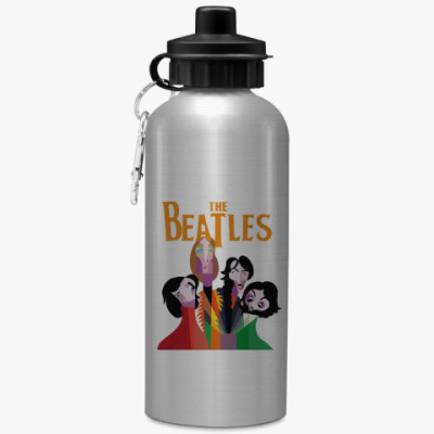 Спортивная бутылка/фляжка Битлз, Beatles