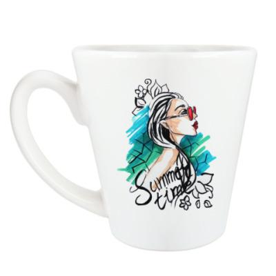 Чашка Латте Стильное лето