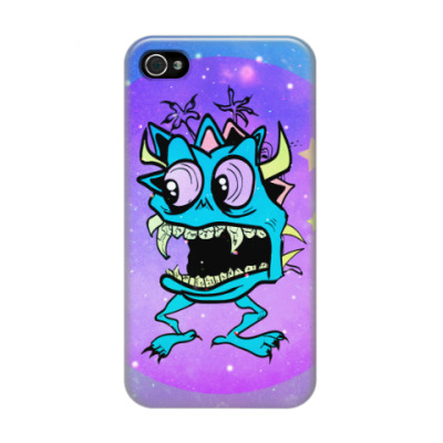 Чехол для iPhone 4/4s monstr