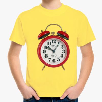 Детская футболка Ретро будильник