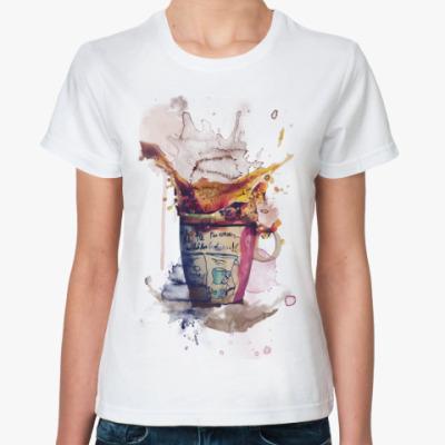 Классическая футболка Утренний кофе