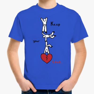 Детская футболка Береги любовь