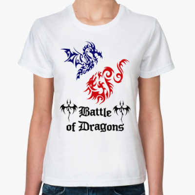 Классическая футболка Battle Dragons