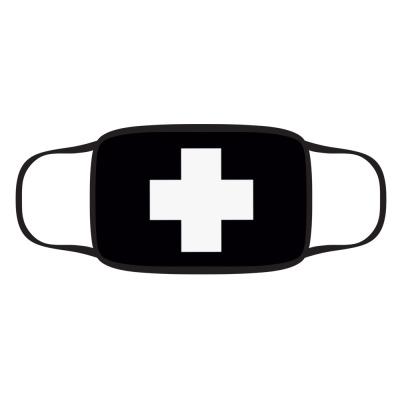 Маска Защитная маска Белый крест