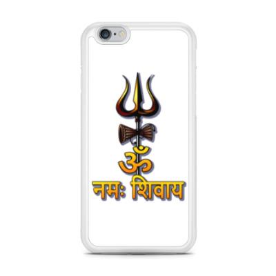 Чехол для iPhone Ом намах Шивайя с тришулой