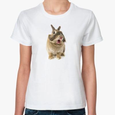 Классическая футболка Rabbit