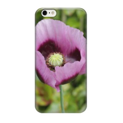 Чехол для iPhone 6/6s Розовый мак