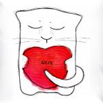 У котика любовь