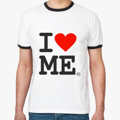 Футболка Ringer-T i love Me