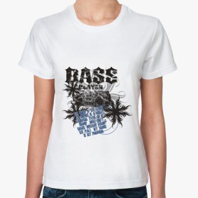 Классическая футболка Bass Player
