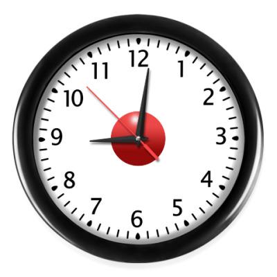 Настенные часы Красный мяч