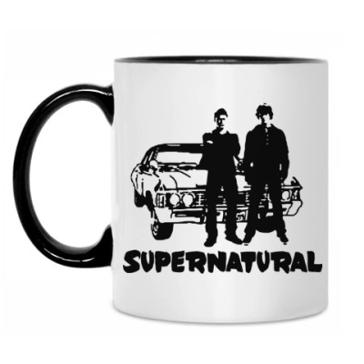 Кружка Supernatural Impala