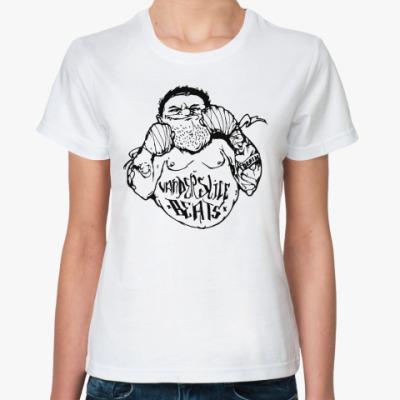 Классическая футболка Уличный боец