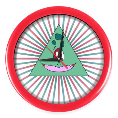 Настенные часы Покемон-масон Бульбазавр