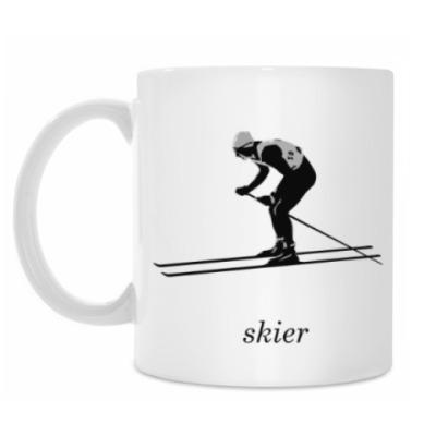 Кружка Лыжник