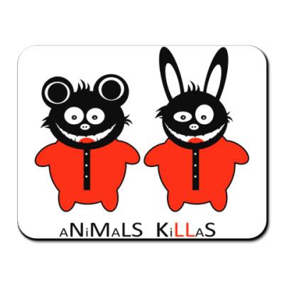 Коврик для мыши Animals Killas