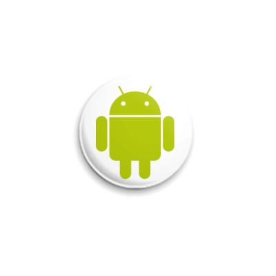Значок 25мм  Android