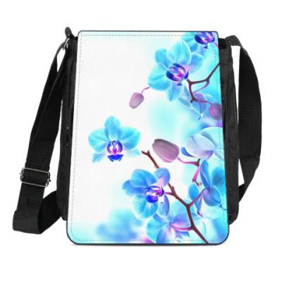 Сумка-планшет Орхидея