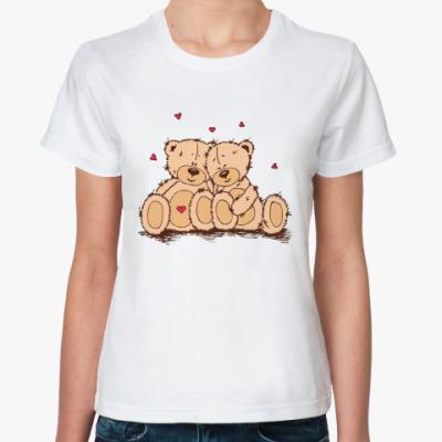 Классическая футболка С Днем Святого Валентина