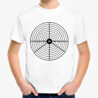 Детская футболка Пацифик-мишень