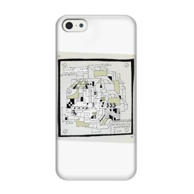 Чехол для iPhone 5/5s План-схема