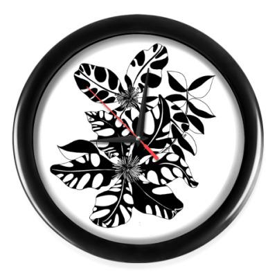 Настенные часы Клематис