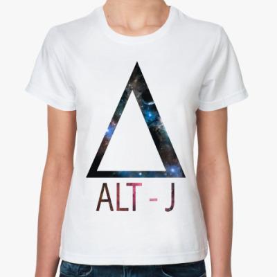 Классическая футболка Alt-j