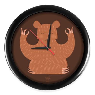 Настенные часы Animal Zen: B is for Bear