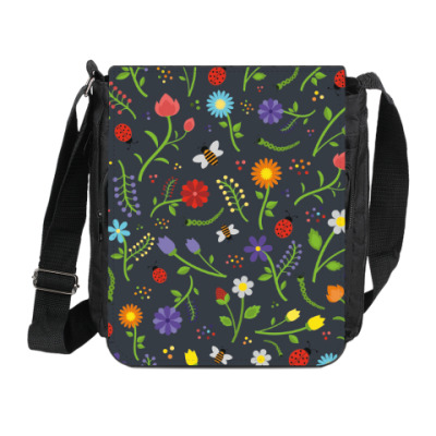 Сумка на плечо (мини-планшет) Летний луг/ Summer meadow