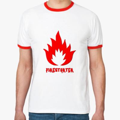 Футболка Ringer-T  Firestarter