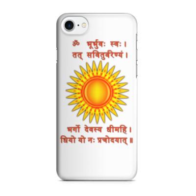 Чехол для iPhone 7/8 Древняя мантра солнца