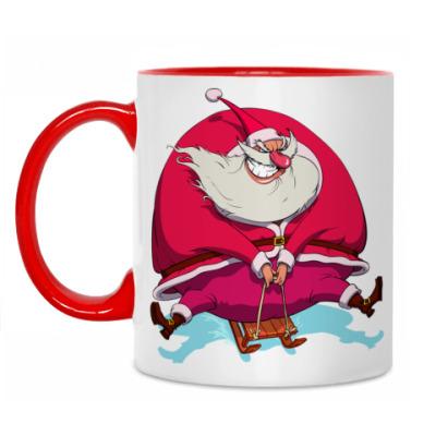 Кружка Злой Санта