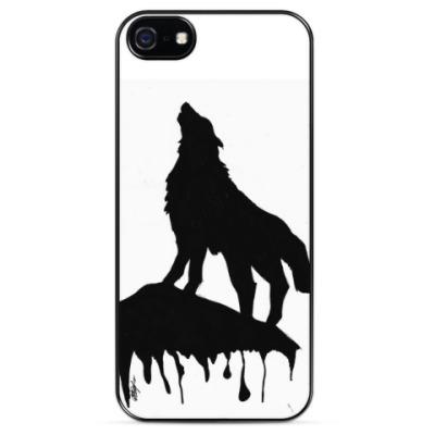 Чехол для iPhone Lonely Wolf