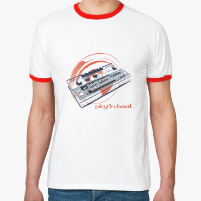 Футболка Ringer-T playinbeat TB-303